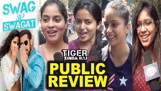 Swag Se Swagat Song 1st Day Public Reactions | Tiger Zinda Hai | Salman Khan | Katrina Kaif