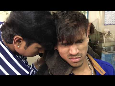 Xxx Mp4 ASMR Indian Barber Head Massage By Sunil Manish Is Getting The Massage 3gp Sex