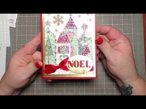 Xxx Mp4 Christmas Card Using Napkins And Glitter 3gp Sex