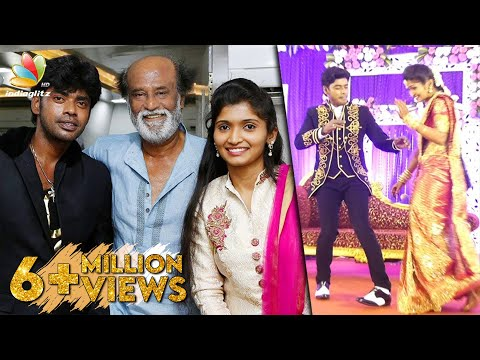 Dancer Sandy's Special Performance in his Wedding Reception | Rajinikanth | Celebrity Marriage