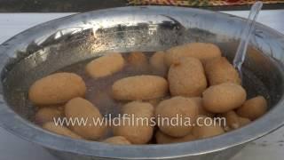 Bengali sweets - sandesh, rasgulla, nolen gur rasgulla