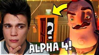 Co jest w piwnicy?! - Hello Neighbor #10 [ALPHA 4]
