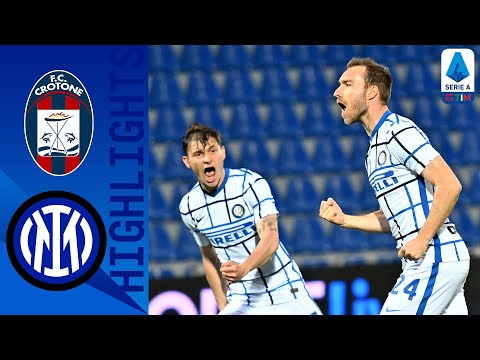 Crotone 0 2 Inter Inter Crowned Champions with Win Serie A TIM