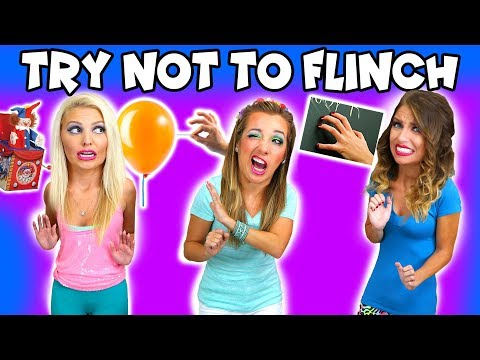 Try Not To Flinch Challenge Balloon Pop Spooky Video Unusual Smells and More. Totally TV