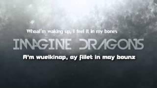 "Imagine Dragons - ""Radioactive"" (Lyrics + Pronunciación) [HD]"