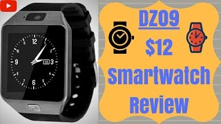 DZ09 Smartwatch In Depth Product Review 2017