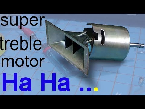 Xxx Mp4 How To Make Homemade Speakers Super Treble Tweeter From Motor For Better Sound 3gp Sex