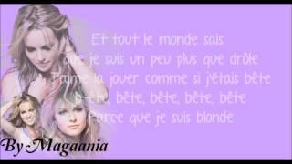 Bridgit Mendler - Blonde Traduction française