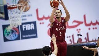Mizo Amin - FIBA - Asian Championship Qatar vs Thailand  Offensive Highlights (2016)
