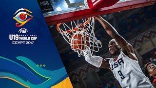 USA v Angola - Live - FIBA U19 Basketball World Cup 2017