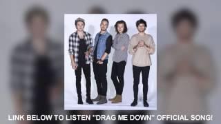 One Direction   Drag Me Down Lyrics Video