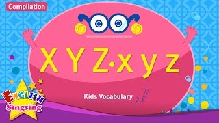 Kids vocabulary compilation - Words starting with X x, Y y, Z z - Learn English for kids