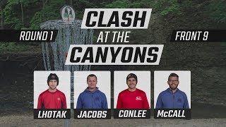 Clash At The Canyons 2018 | Feature Card | Round 1 | Front 9