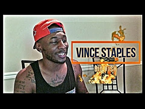 Vince Staples Big Fish OFFICIAL VIDEO REACTION Roll With D