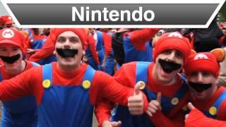 Nintendo - Mario Tanooki Trot Video