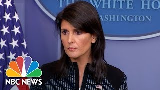 White House Press Briefing - September 15, 2017   NBC News