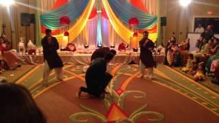 Usman's Mehndi Dance