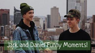 Jack Avery and Daniel Seavey Funny//Cute Moments(snaps)