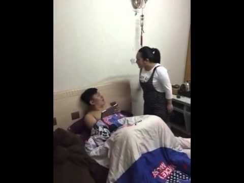 Kantoi dengan Isteri melancap