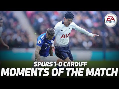 Xxx Mp4 HEUNG MIN SON S TOUCHLINE TRICKERY SPURS 1 0 CARDIFF MOMENTS OF THE MATCH 3gp Sex