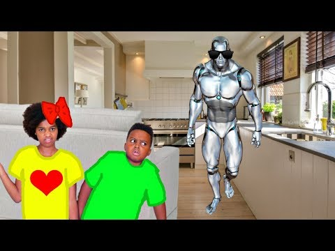 Xxx Mp4 GAME MASTER Turned Our Robot Into A Spy Shiloh And Shasha Onyx Kids 3gp Sex