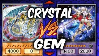 CRYSTAL BEASTS vs GEM-KNIGHTS (Yu-gi-Oh Competitive Deck Duel)