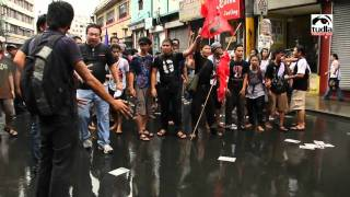 NEWSREEL: Violent dispersal during the 2nd day of CampoutPH