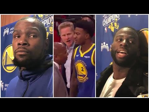 Xxx Mp4 Steve Kerr On His Argument With Jordan Bell Kevin Durant Draymond Green React To The Incident 3gp Sex