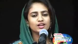 MALABAR  MALAYALAM  MAPPILA  SONG BY YOUNG GIRL