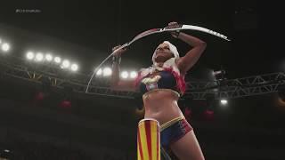 WWE Extreme Rules 2018 Alexa Bliss vs Nia Jax WWE RAW Women's Championship Match WWE 2K18