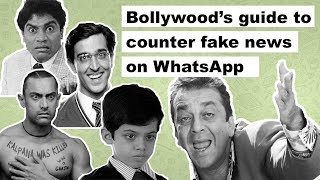 An eight step guide to counter fake news on WhatsApp with Bollywood