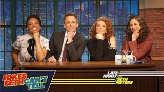 Jokes Seth Can't Tell with Michelle Wolf