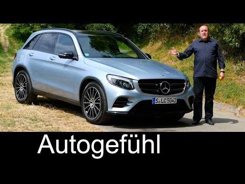 All new Mercedes GLC FULL REVIEW test driven GLC 250 4MATIC 2016 Autogefühl