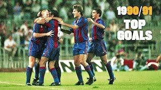 FC Barcelona League Champions 1990/91: Top goals