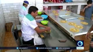 5747 Küche Press TV IRAN   How to make Sowhan Persian sweet