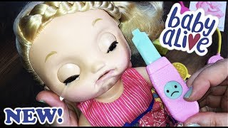 NEW Baby Alive Sweet Tears Baby Doll Unboxing -- Blonde
