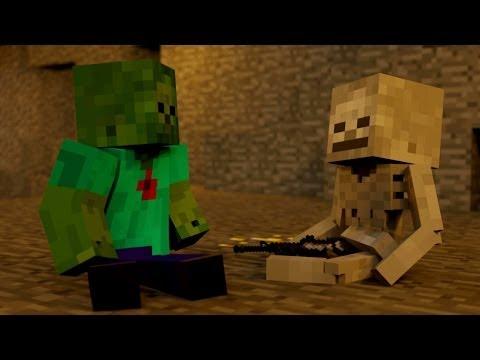 Xxx Mp4 SkeleGUN ZOMBIE Minecraft Animation 3gp Sex