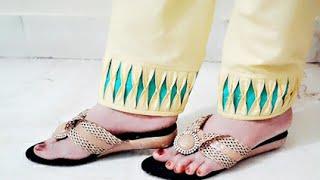 Latest Salwar ki mohri design  stitching video in hindi