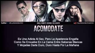 Acomodate   Jowell Y Randy Ft Arcangel Y De La Ghetto Video Con Letra) REGGAETON 2013