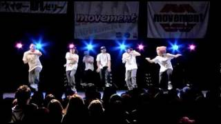 chiLLax × AKS SPECIAL STAGE 2011.5.30 NEXT MOVEMENT at 渋谷O-EAST