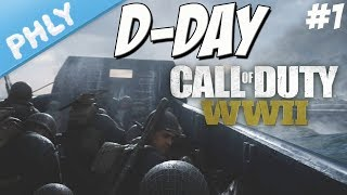 Call Of Duty WW2 - STORMING THE BEACHES - D-Day Mission #1 (Call Of Duty WW2 Gameplay)