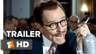 Trumbo Official Trailer #1 (2015) - Bryan Cranston, Diane Lane, Helen Mirren Biopic HD