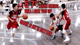 5'7 Soph Yuuki Okubo IS BACK & HE'S BETTER!! Shows Scoring Ability, LOCKS UP ON DEFENSE
