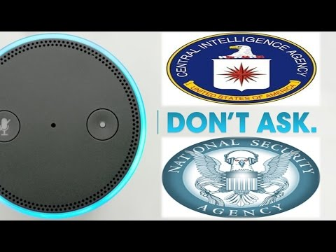 The Amazon Echo Is Spying On You Shuts Down When Asked About CIA NSA