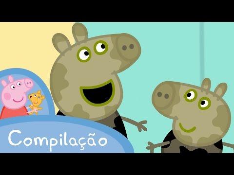 Peppa Pig Compilação 1 45 minutos