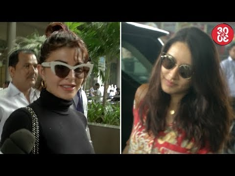 Jacqueline Talks On Her Alleged Cat-fight With Alia   Shraddha, Jackie, Hazel Spotted At The Airport