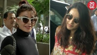 Jacqueline Talks On Her Alleged Cat-fight With Alia | Shraddha, Jackie, Hazel Spotted At The Airport