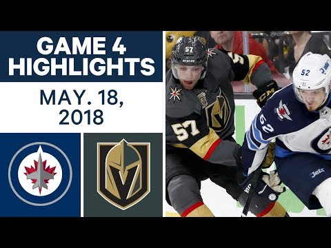 Xxx Mp4 NHL Highlights Jets Vs Golden Knights Game 4 May 18 2018 3gp Sex