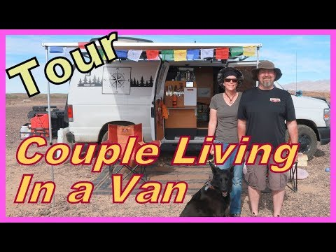 Xxx Mp4 TOUR Of A Couple Living In A Van Ann And Guy 3gp Sex