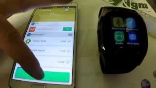 Please install BT Notifier in smartphone, Fix / Solution! Chinese smart watch, App from Google Play